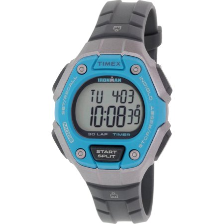 Women's Ironman TW5K89300 Grey Rubber Quartz Sport Watch ()