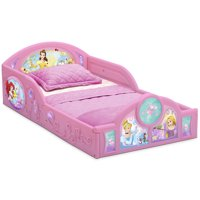 Deals on Disney Princess Plastic Sleep and Play Toddler Bed by Delta Children