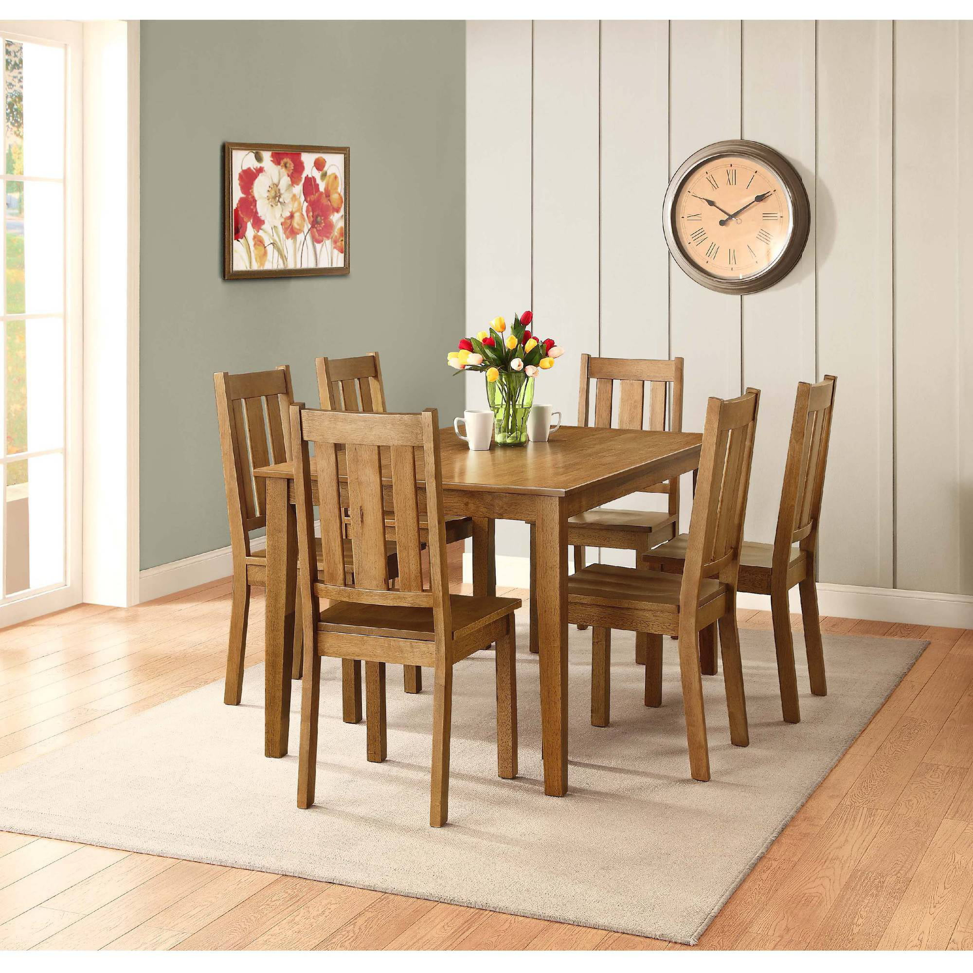 Better Homes And Gardens Bankston Dining Chair Set Of 2 Mocha
