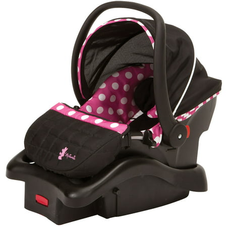 Disney Baby Light 'n Comfy 22 Luxe Infant Car Seat, Minnie (Best Car Seat For Infant Through Toddler)