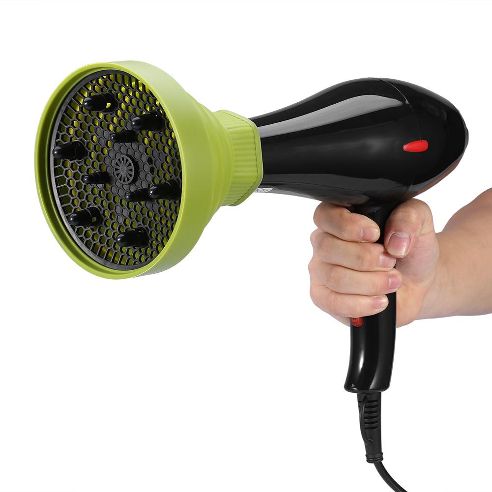 EECOO Dryer Diffuser,5 Colors Foldable Folding Hairdryer Hair Blower Diffuser Cover Styling Hairdressing Tool,Hair Dryer Cover
