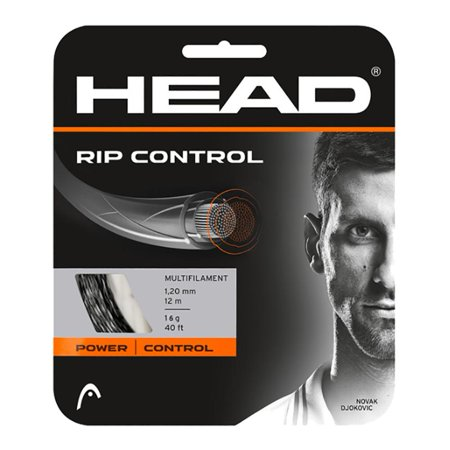RIP Control 16G Tennis String Black Head Perfect Control Tennis String