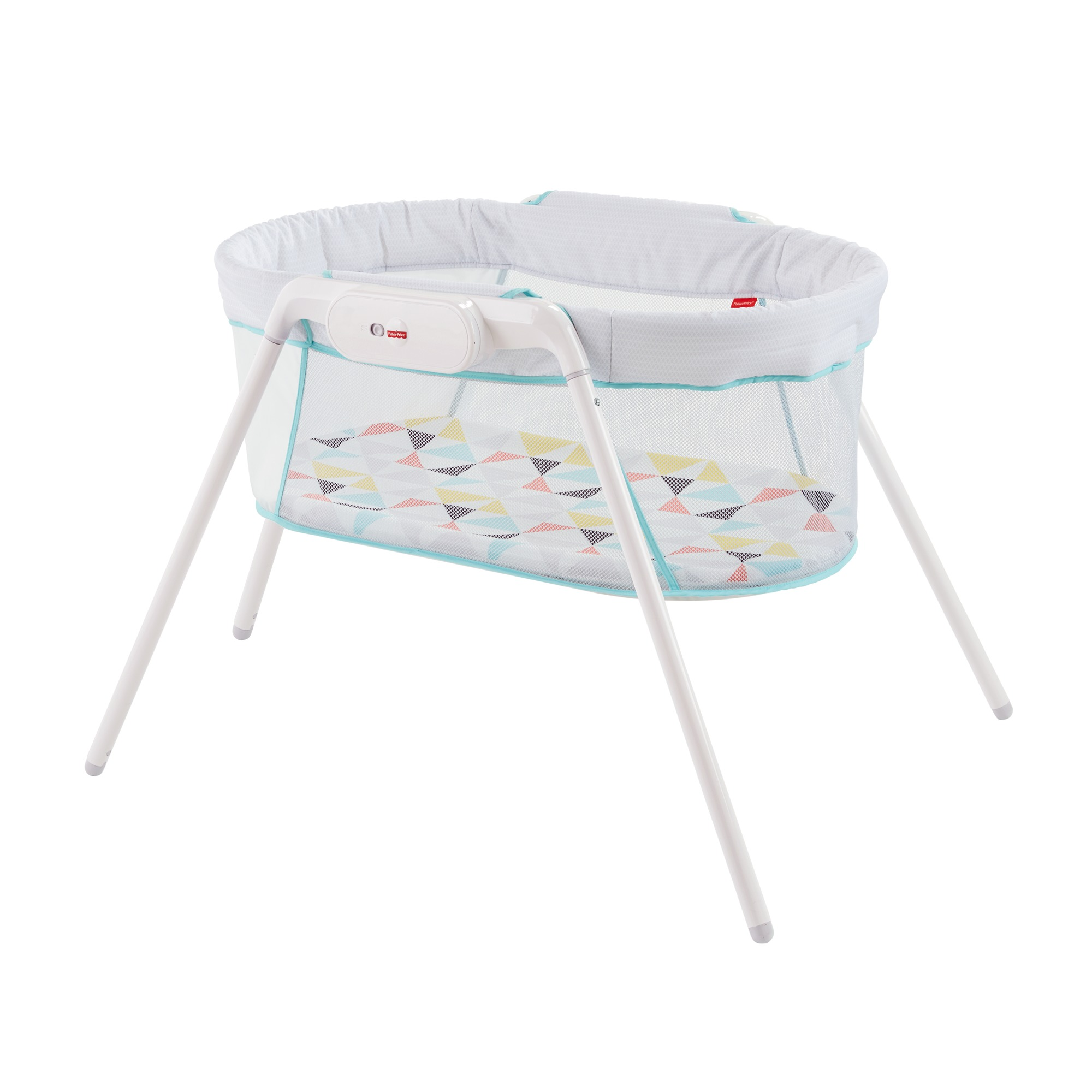 Fisher Price Stow 'N Go Bassinet with Travel Bag Set by Fisher-Price