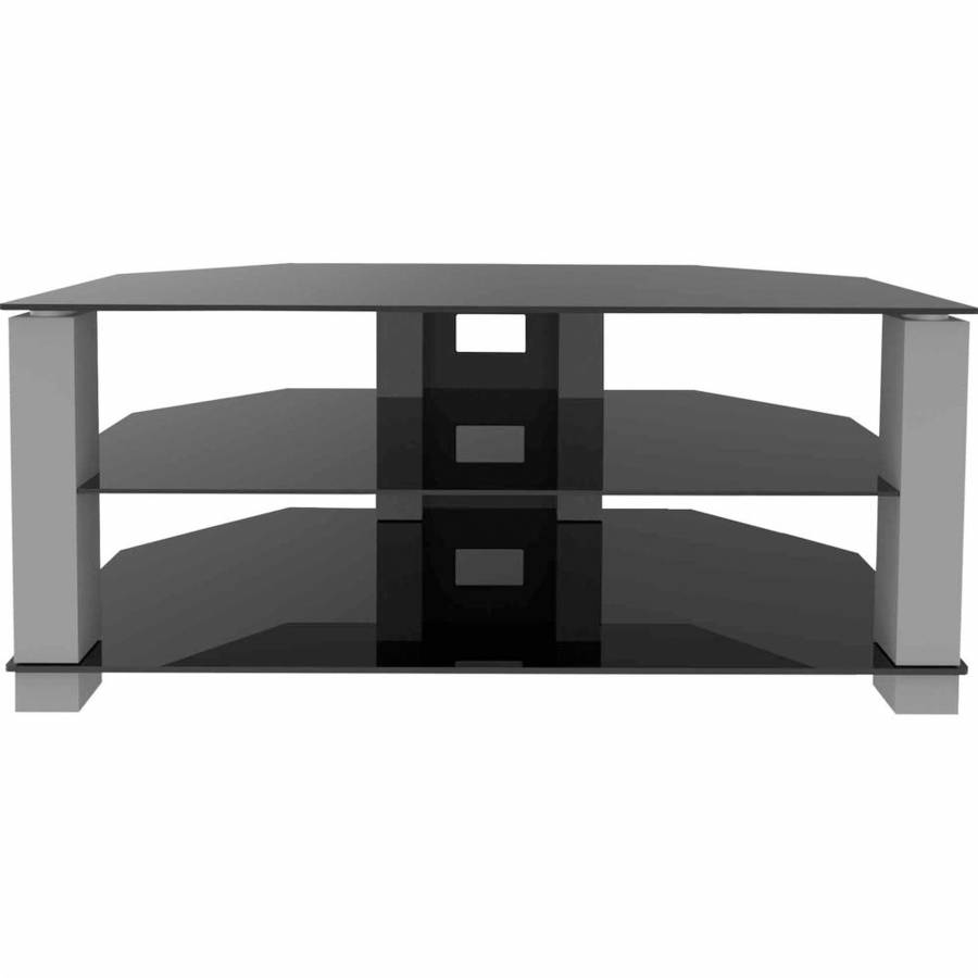 Ematic Metal And Glass Tv Stand For Tvs Up To 70 Lbs And 62