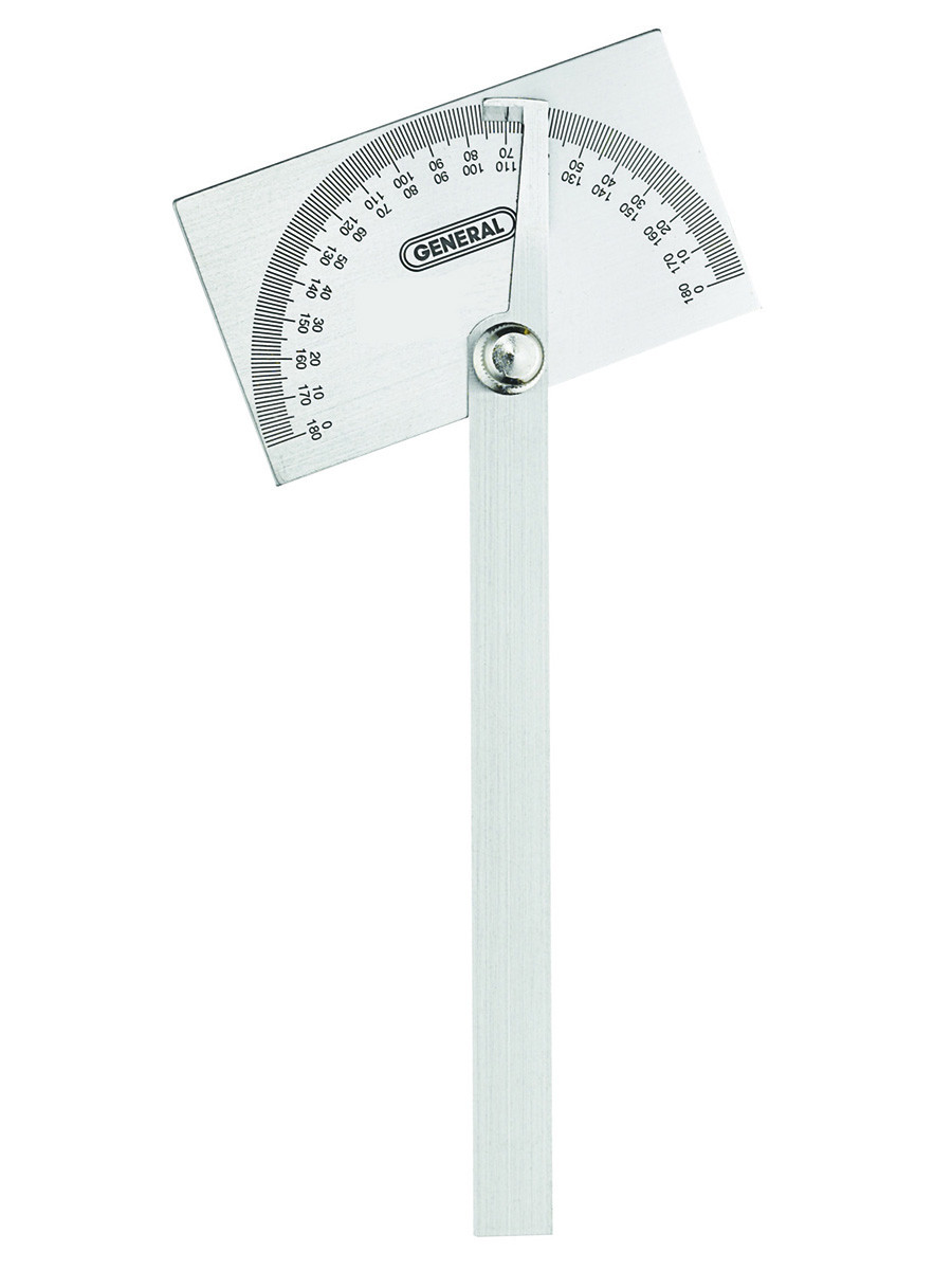 General Tools 17 Square Head Metal Protractor by General Tools