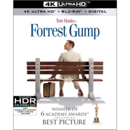Forrest Gump (4K Ultra HD + Blu-ray + Digital)