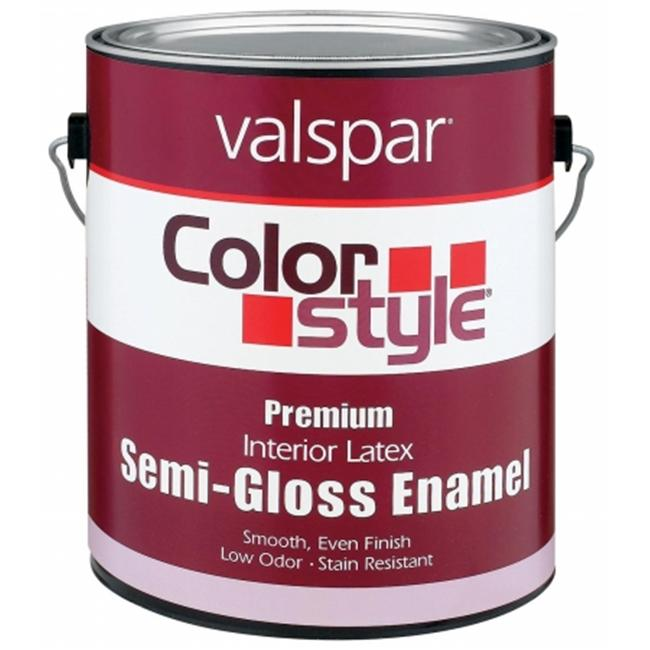 Valspar Brand 1 Quart Clear Base ColorStyle Interior Latex Semi Gloss Enamel Pa