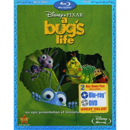A Bug's Life (Blu-ray + DVD) (Widescreen)