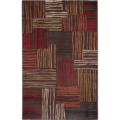 Home Trends Ht 60x84 Spectral Brown Area Rug