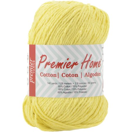 Home Cotton Yarn, Solid, (Yarn Sunflower)