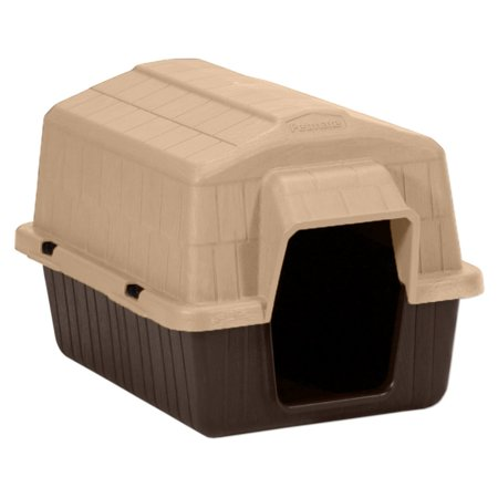 Dog House Blind - Aspen Pet Petbarn 3 Plastic Dog House, Up To 15 Lbs