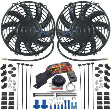 Dual Radiator Cooling Fan - American Volt Dual 9