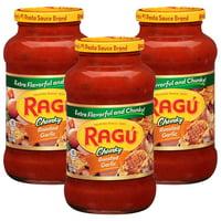 (3 Pack) Ragu Robusto Roasted Garlic Pasta Sauce 24 oz