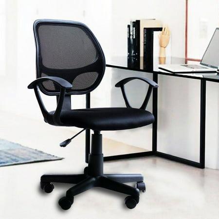 Ktaxon Office Chair Modern High Back Ergonomic Desk Task  Executive Computer Seat Black ()