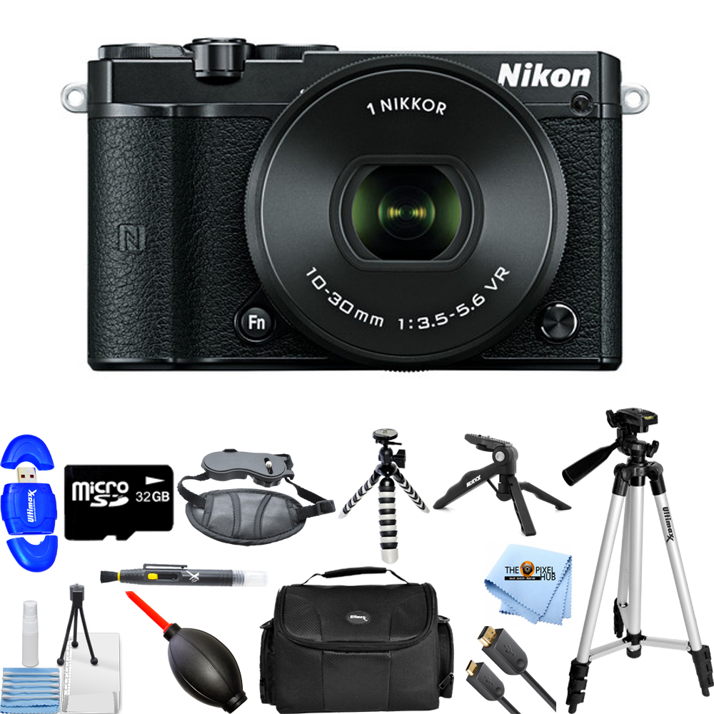 UNASSIGNED Nikon 1 J5 Mirrorless Digital Camera with 10-3...