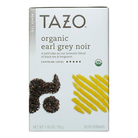 Tazo ® Earl Organic Gris Noir Thé Noir Thé Sacs 20 ct. Boîte