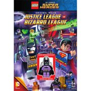 Lego: DC Comics Super Heroes: Justice League Vs. Bizarro League (DVD + Batzarro Lego Minifigure) (Widescreen) by WARNER HOME VIDEO