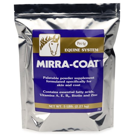 PetAg Mirra-Coat Equine Palatable Powder Supplement, 5