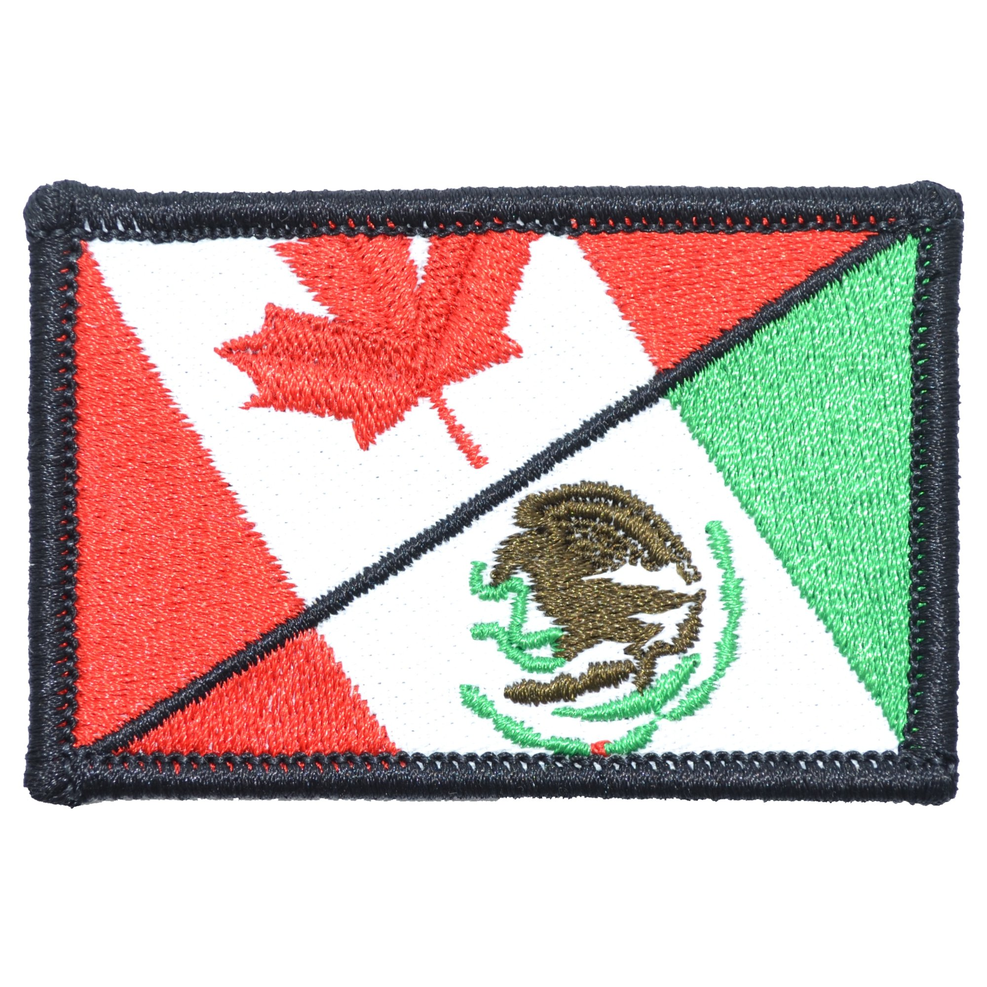 Canada / Mexico Flag - 2x3 Patch