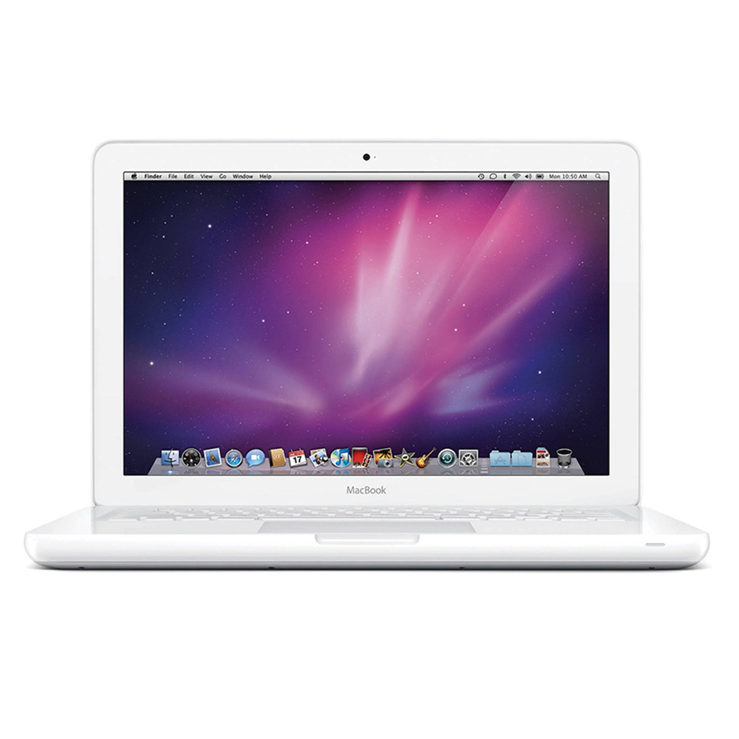 "Refurbished Apple Macbook 13.3"" LED Laptop Core 2 Duo P8600 2.4GHz OS X 2GB 250GB MC516LL/A"