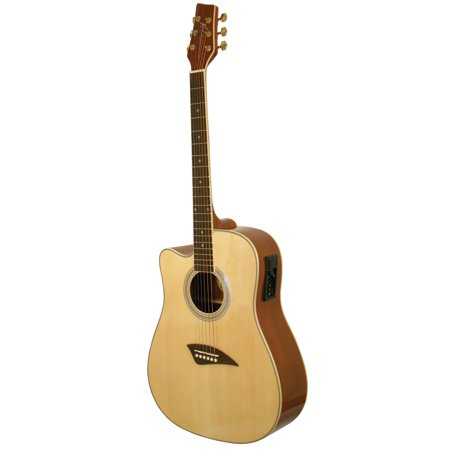 Guitar Top Nut (Kona K1EL Left-Handed Acoustic-Electric Dreadnought Cutaway Spruce Top Guitar With High-Gloss Finish )