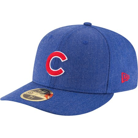 finest selection 0d373 11127 Chicago Cubs New Era Crisp Low Profile 59FIFTY Fitted Hat - Heathered Royal  - Walmart.com