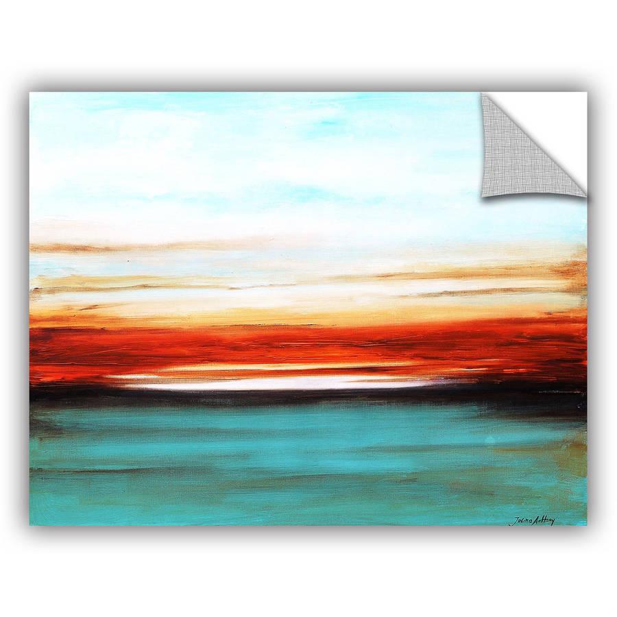 "ArtWall Jolina Anthony ""Sunset"" ArtAppealz Removable Wall Art"