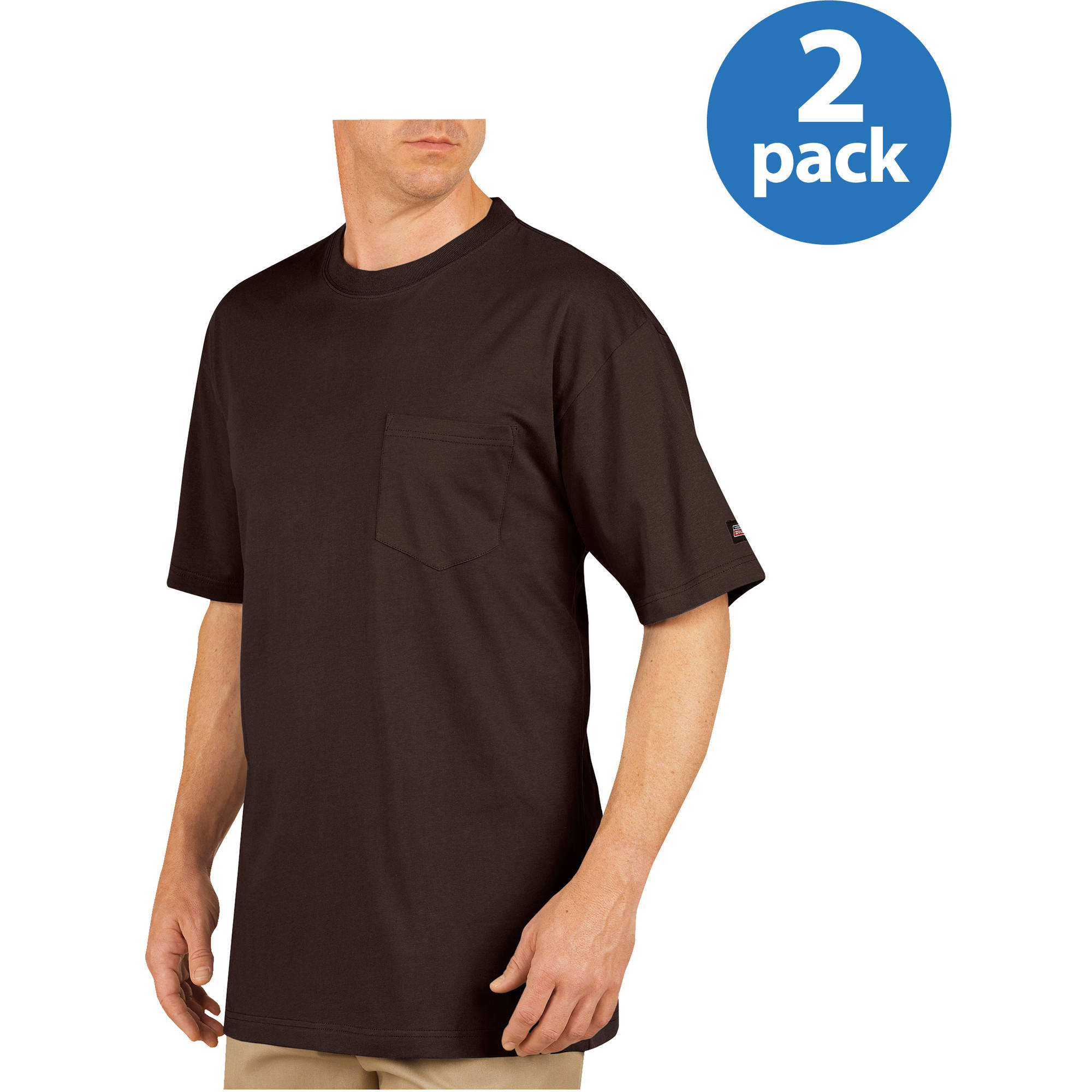Genuine Dickies Pocket Tees, 2-Pack