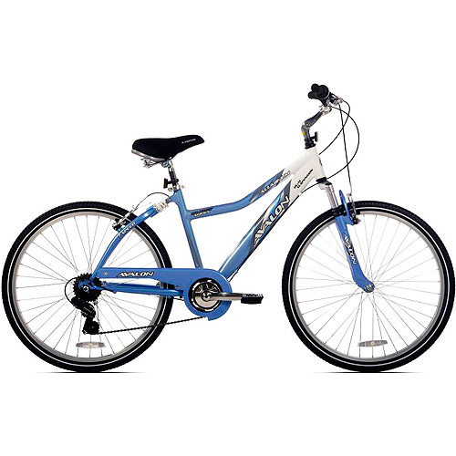 "26"" NEXT, Avalon, Comfort Bike, Full Suspension, Women's Bike, Blue/White"