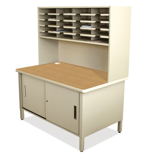 Marvel Office Furniture 20 Compartment Mailroom Organizer