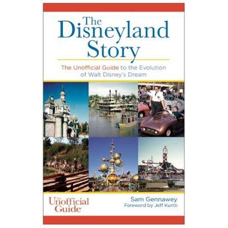 The Disneyland Story - Paperback](Disneyland At Halloween Time)