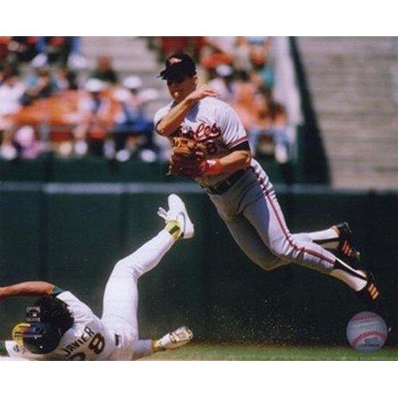Cal Ripken Jr. 1989 Action Sports Photo -  Photo File