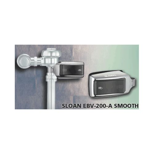 Sloan EBV-200-A Battery Powered, Sensor Activated Retrofit Unit for Exposed Closet and Urinal Flushometers