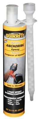 8.6 OZ Fast Set Anchoring Epoxy A Two Component High Modulus Non-Sag G Only One by