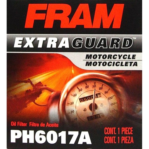 FRAM Motorcycle Oil Filter, PH6017A