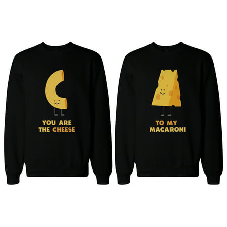 Youre the Cheese to My Macaroni BFF Matching SweatShirts for Best