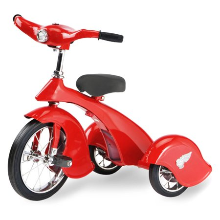 Morgan Cycle Vintage Bird Retro Tricycle - Red