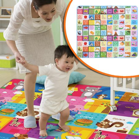 Crawl Mat Play Carpet Playmat Pe Blanket Rug Indoor Outdoor Gyms Gear For Kids