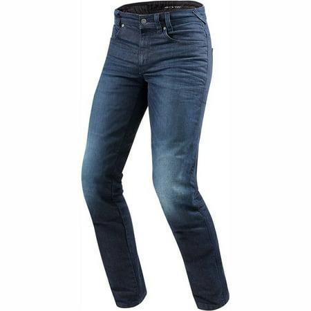 Rev'It Vendome Mens Motorcycle Jeans Medium Blue