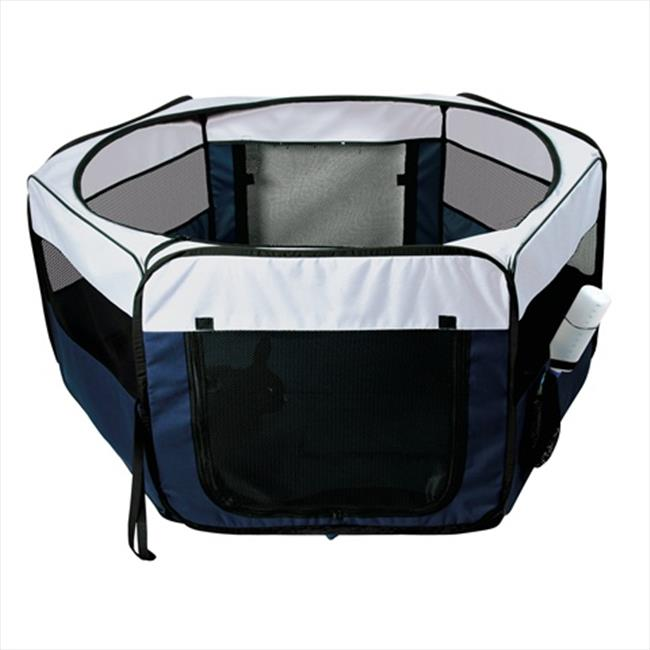 TRIXIE Pet Products 64052 Soft Sided Mobile Play Pen, Small