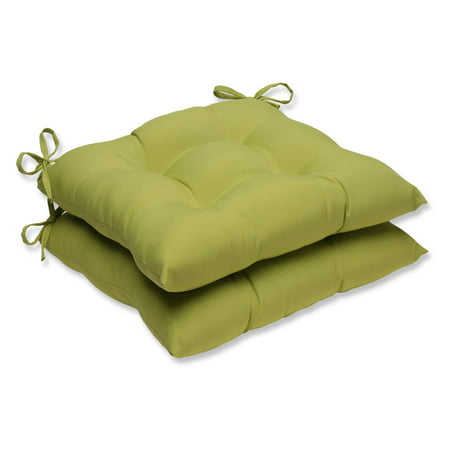 Perfect Pear (Pillow Perfect Outdoor/ Indoor Fresco Pear Wrought Iron Seat Cushion (Set of)