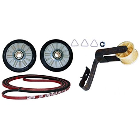 Whirlpool 7015083 4392065 DRYER BELT MAINTENANCE KIT REPAIR PART FOR WHIRLPOOL, AMANA, MAYTAG, KENMORE AND MORE (Kit Timer For Dryer Kenmore)
