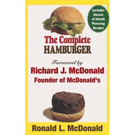 The Complete Hamburger - eBook](Ronald Mcdonald Costumes)
