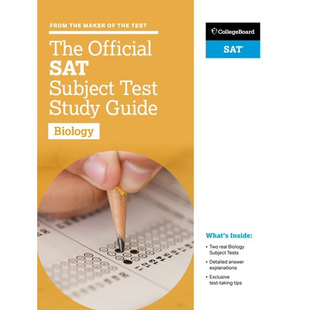 The Official SAT Subject Test in Biology Study