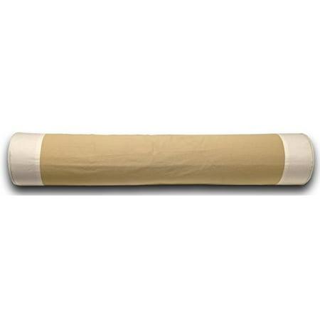 Bowser Stripe - KOJO Bolster Pillow, Tan w/White Stripe 40