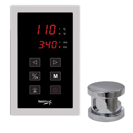 Steam Spa SteamSpa Oasis Touch Panel Kit Steam Generator