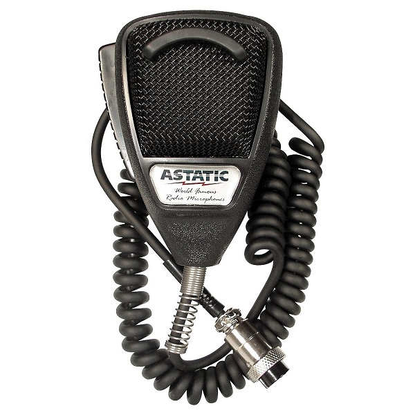 Astatic 636L Noise Cancelling 4-Pin CB Radio Microphone FREE SHIPPING!!!!!