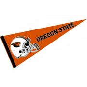 """Oregon State Beavers Football Helmet 12"""" X 30"""" Felt College Pennant"""