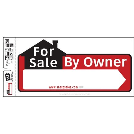 Hy Ko Ssp Decorative Directional Sign  For Sale By Owner  22 In W X 10 In L