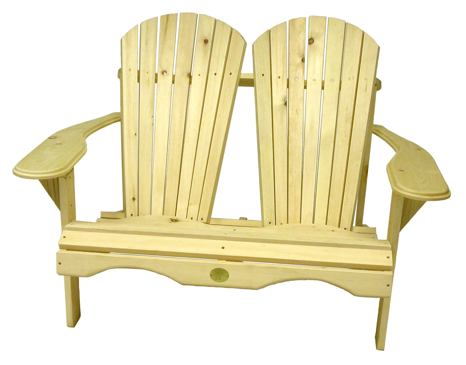 Rustic Natural Cedar Furniture Outdoor Loveseat Walmart Com